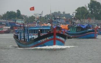 Hàng vạn tàu thuyền hối hả tránh bão số 1