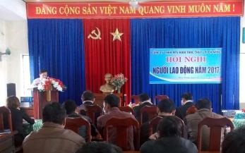 Công ty TNHH một thành viên Khai thác thủy lợi Đà Nẵng tổ chức Hội nghị Người lao động năm 2017