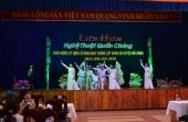 Tham gia văn nghệ chào mừng kỷ niệm 70 năm ngày thành lập Đảng bộ huyện Hòa Vang (20.11.1945-20.11.2015)